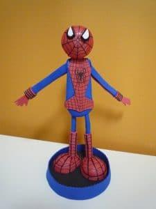 Como hacer un fofucho del hombre araña