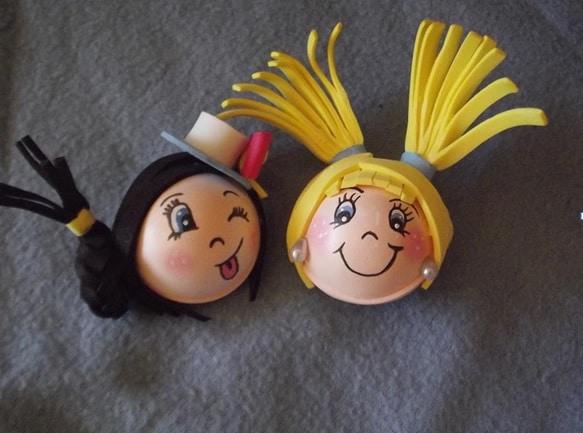 Cómo hacer la cabeza de las muñecas Fofuchas