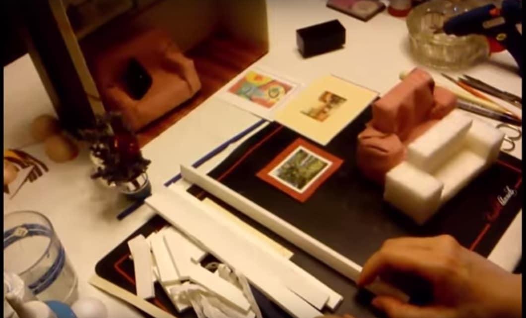 Como hacer habitacion Casa de Muñecas