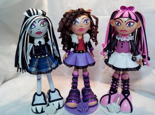 Fofuchas de Monster High