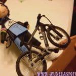 Muñeca Fofucha Personalizada con Bici