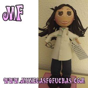 Muñeca Fofucha personalizada ojos 1
