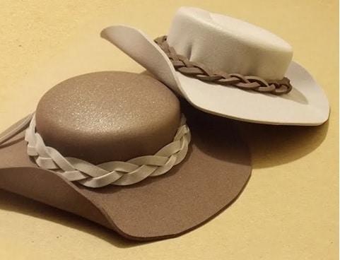 Sombreros para muñecas fofuchas