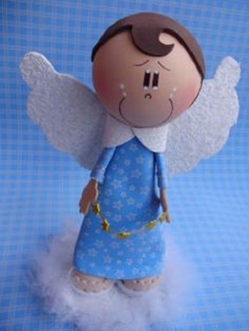 Como hacer un angelito fofucho