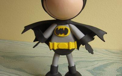 Como hacer tu propio fofucho de Batman