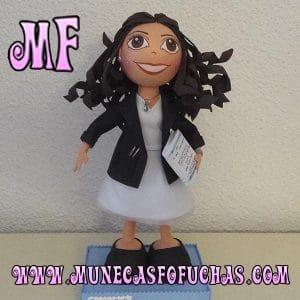 Muñeca Fofucha personalizada 2018 chica 2