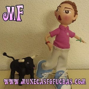 Muñeca Fofucha personalizada san fermin