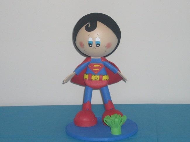 Como hacer un fofucho de superman