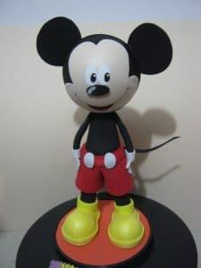 Como hacer muñecas fofuchas de Mickey fofucho
