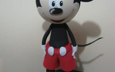 Como hacer muñecas fofuchas hoy Mickey fofucho