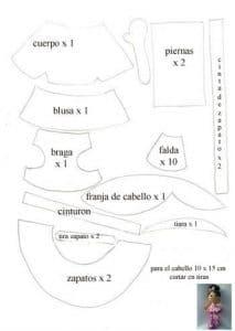 Como hacer muñeca fofucha bailarina 2
