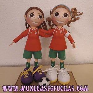 Fofufchas personalizadas chicas futbolistas 2019
