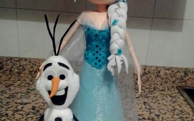 Cómo hacer un Fofulápiz de Elsa