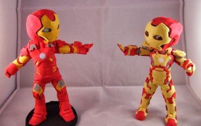 ¿Cómo Hacer un Fofucho de Iron Man?